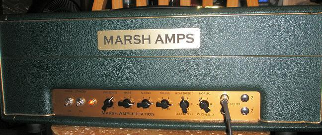 Marsh 1959 Super Lead Amp Head 100 Watt